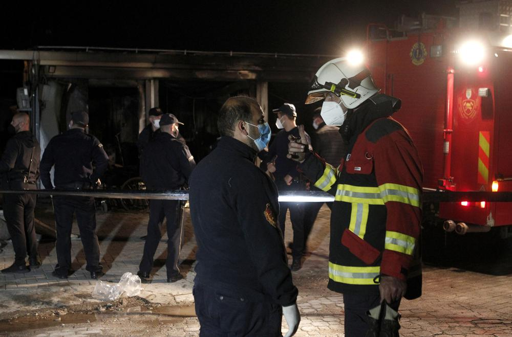 At Least 10 People Dead After Fire Destroys Makeshift Coronavirus Hospital in North Macedonia
