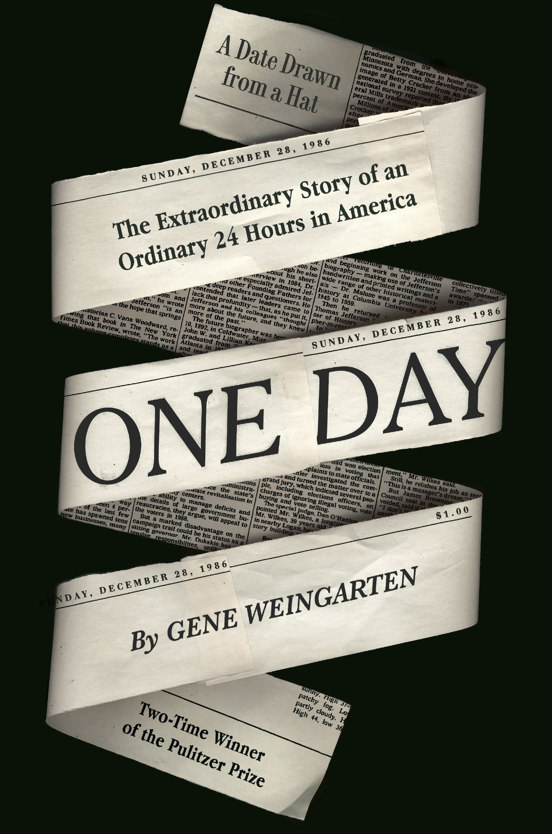 "Review: Pulitzer winner Weingarten tells story of ""One Day"""