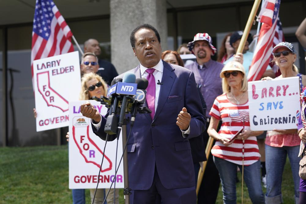 Conservative Radio Host Larry Elder Wins Fight to Enter California Recall Election