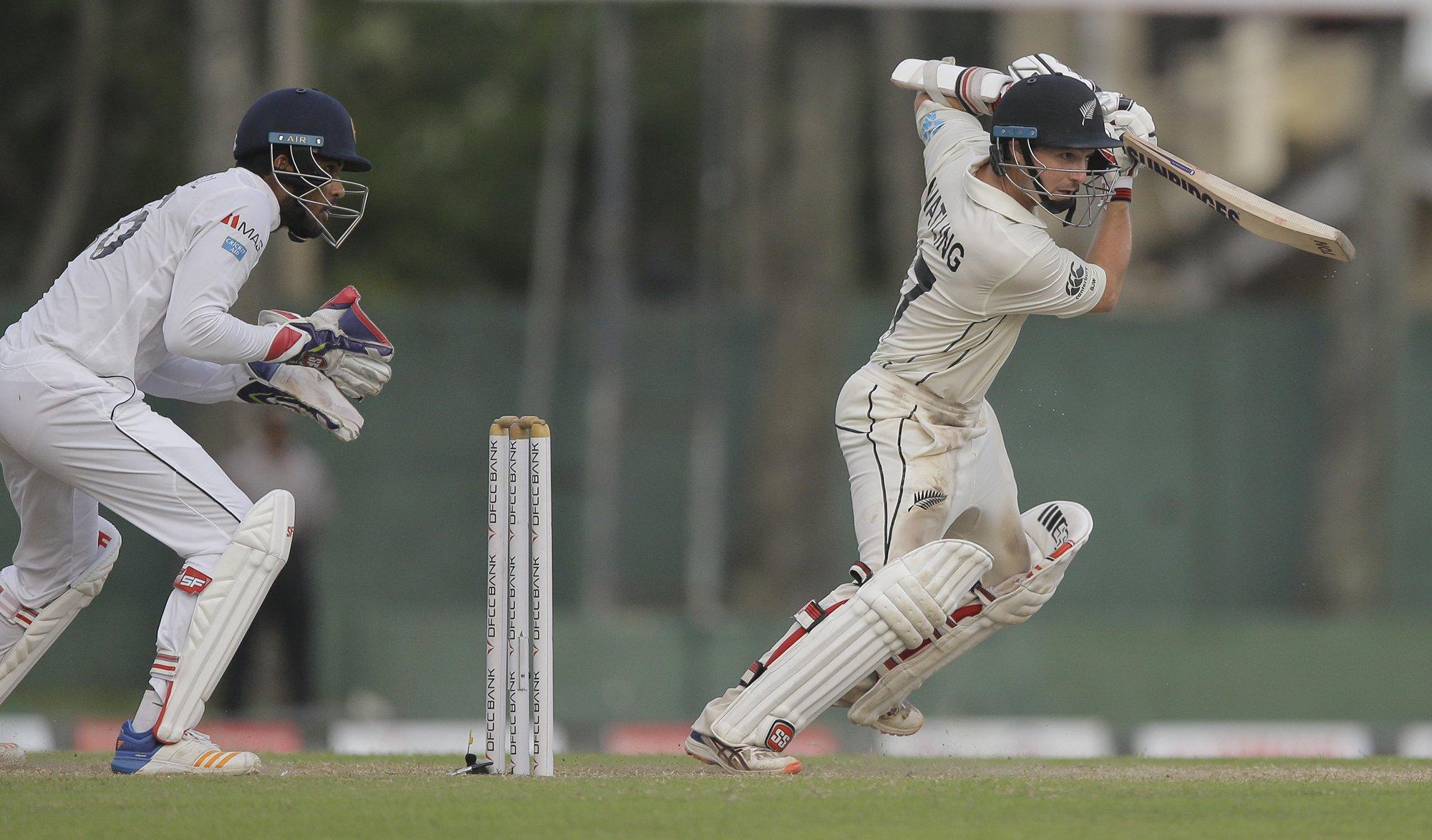 New Zealand take 138-run lead in 2nd test vs. Sri Lanka