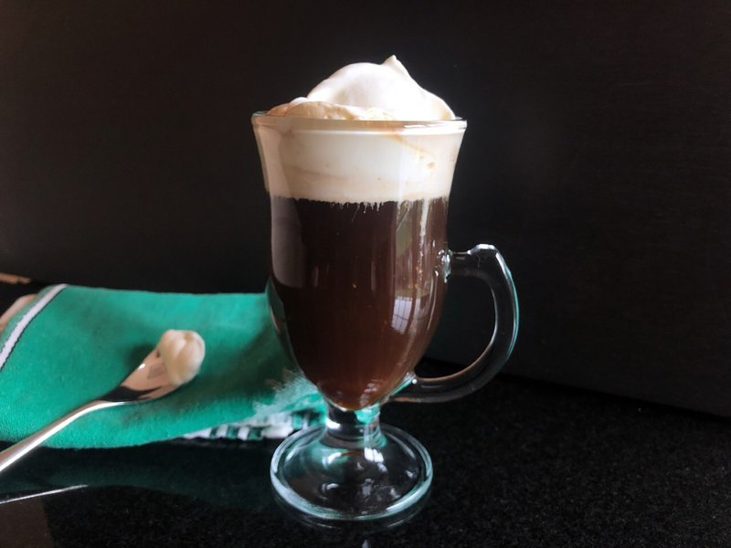 The secret to a great Irish Coffee, it turns out, is instant coffee, a little Irish whiskey, and the best cream thickened but not whipped