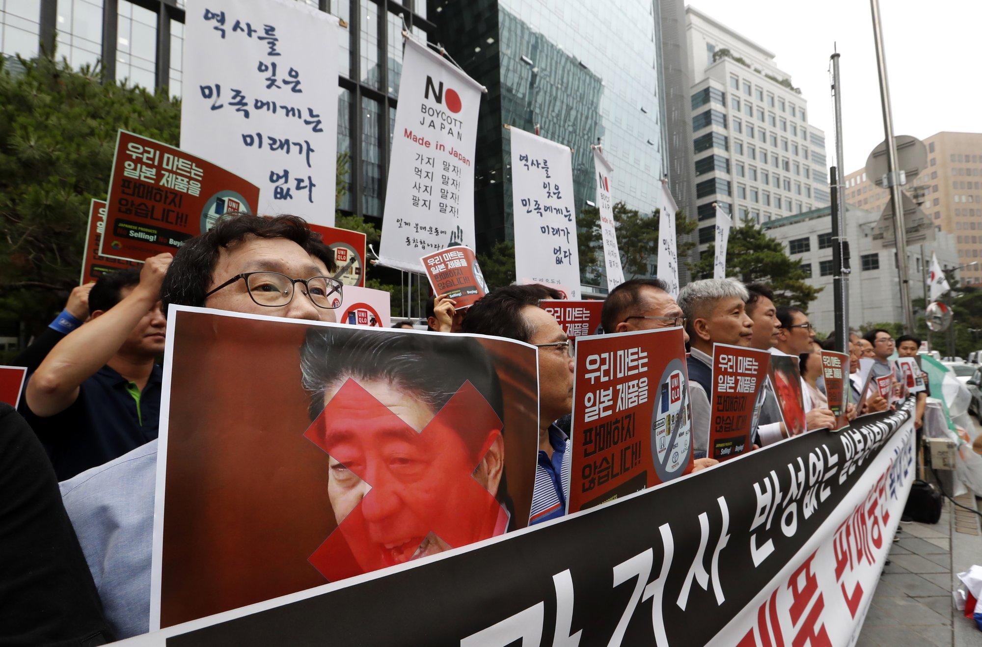 SKorea leader says Tokyo's trade curbs will hurt Japan more