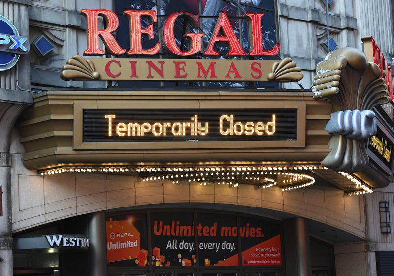 Regal Cinemas, 2nd largest movie chain in US, plans to reopen starting April 2