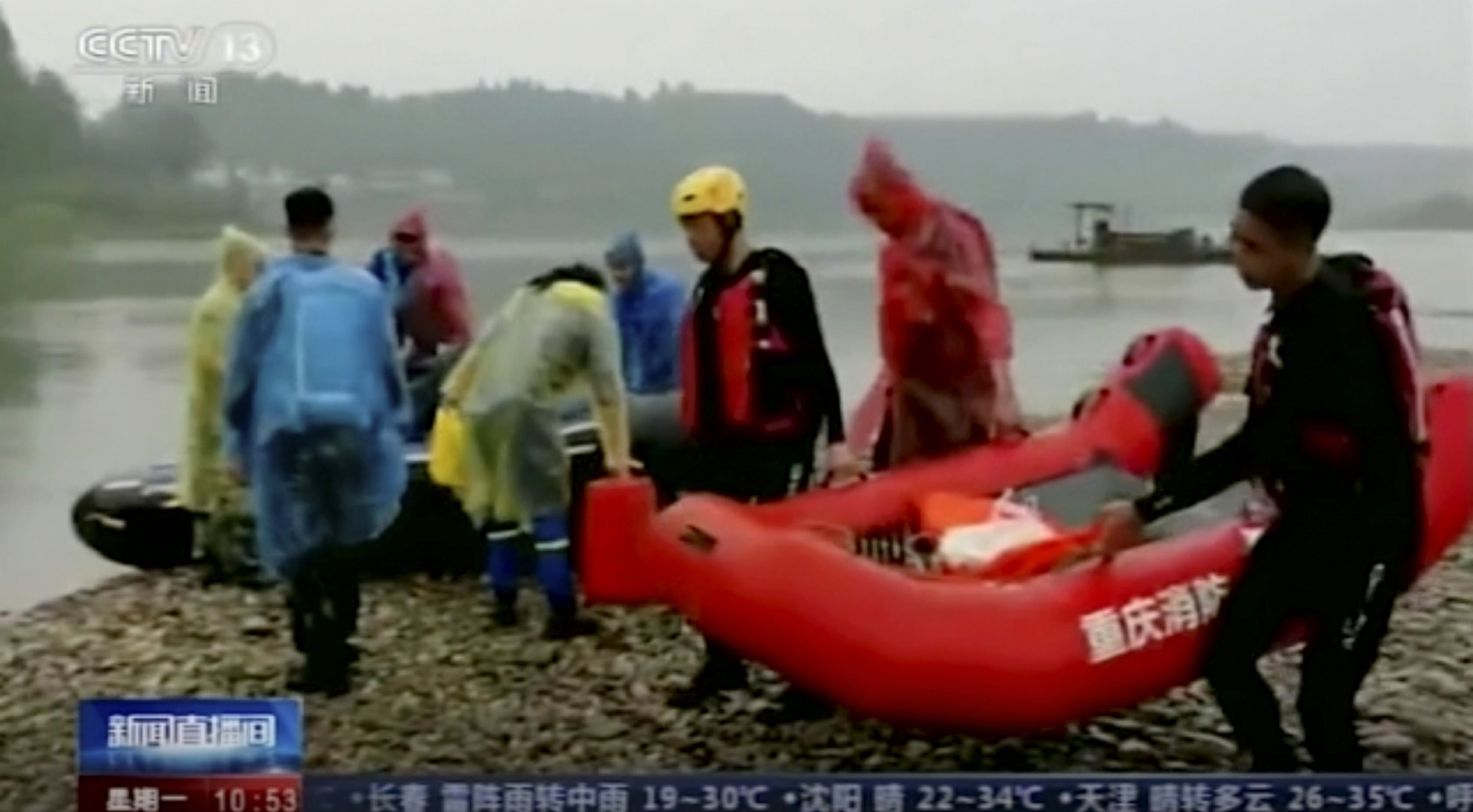8 young children drown in river in southwestern Chinese city