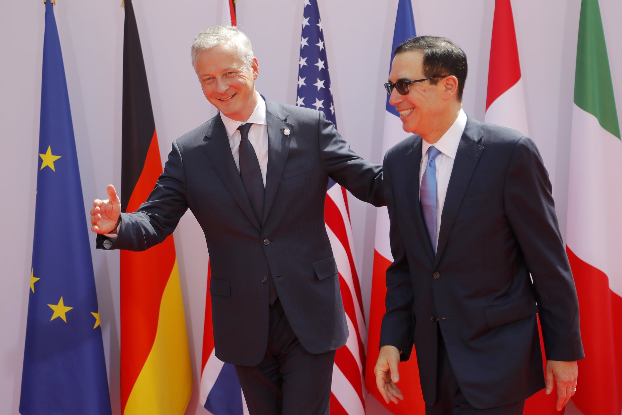 US objections to French tech tax overshadow G-7 finance meet