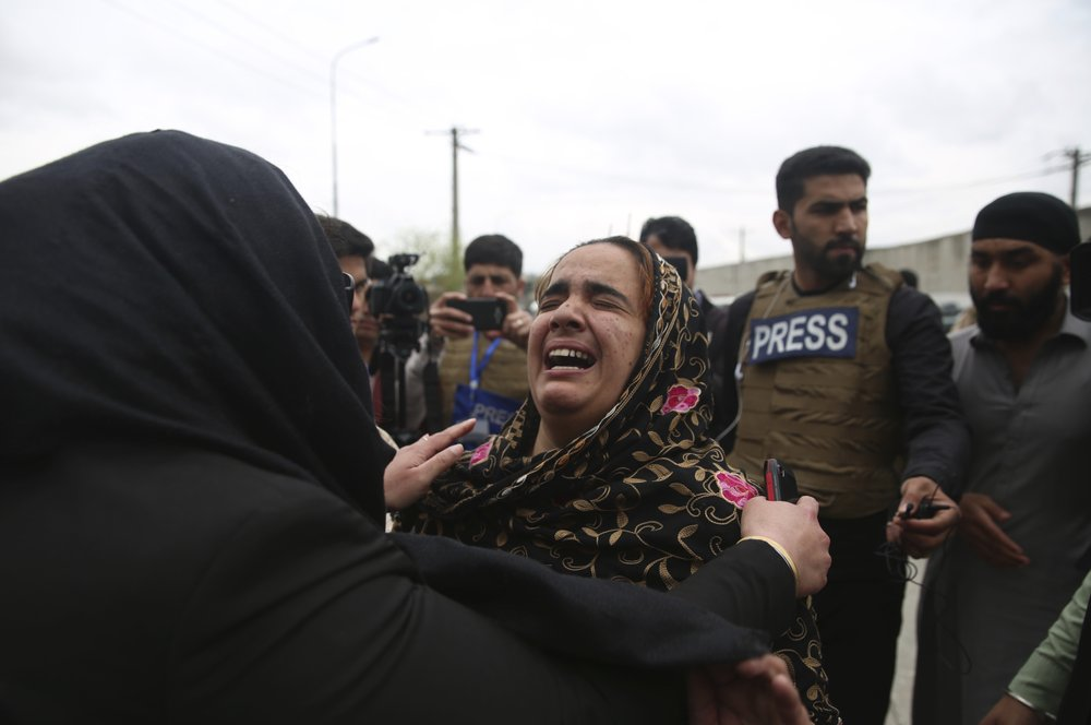 A lone Islamic State gunman rampaged through a Sikh house of worship in Kabul  killing 25 worshippers and wounding 8