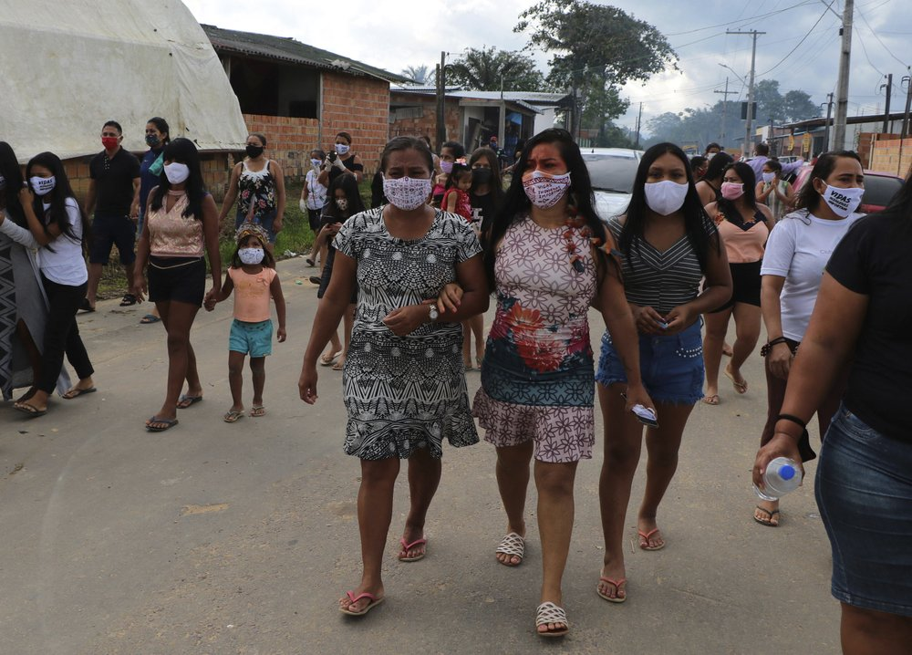 Brazilian President Jair Bolsonaro brushed off calls for action against coronavirus