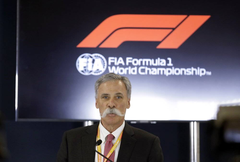 Formula One chairman Chase Carey says there's a possibility of no races in 2020