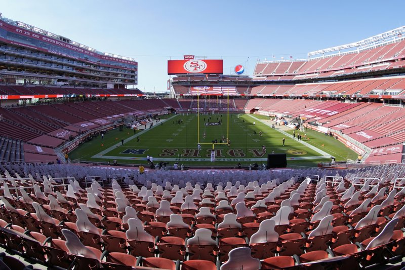 San Francisco 49ers may need temporary home for the next 3 weeks because of new COVID-19 rules