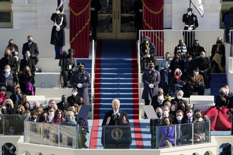 Text of Biden's inaugural address as the 46th president