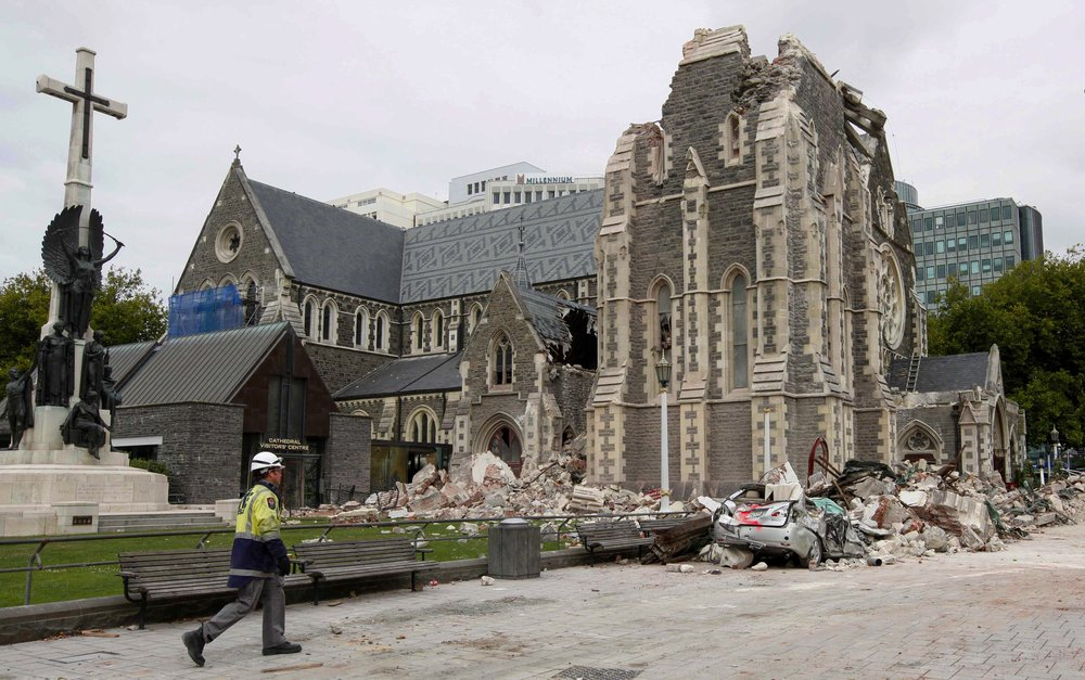 Christ Church Cathedral to be rebuilt 10 years after earthquake destruction
