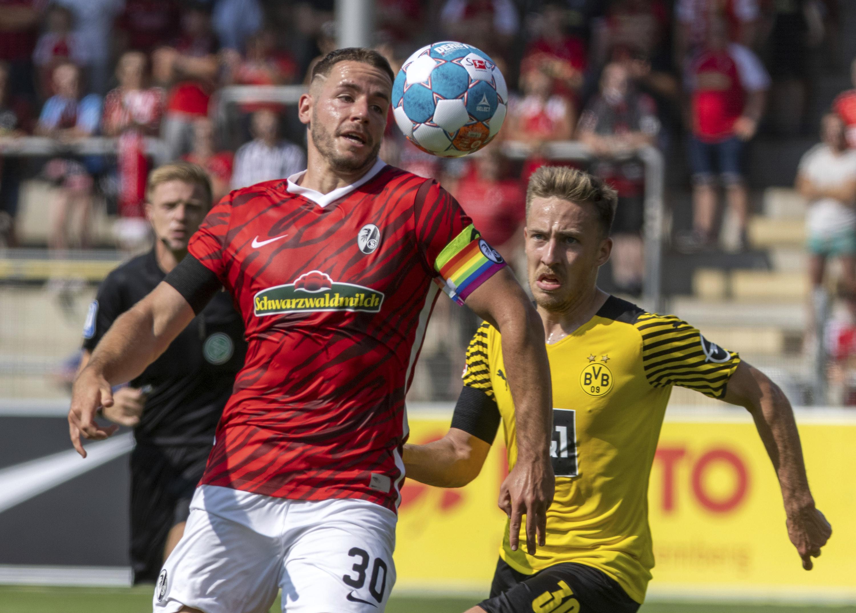 Freiburg deals demoralizing defeat to Dortmund in Bundesliga - Associated Press