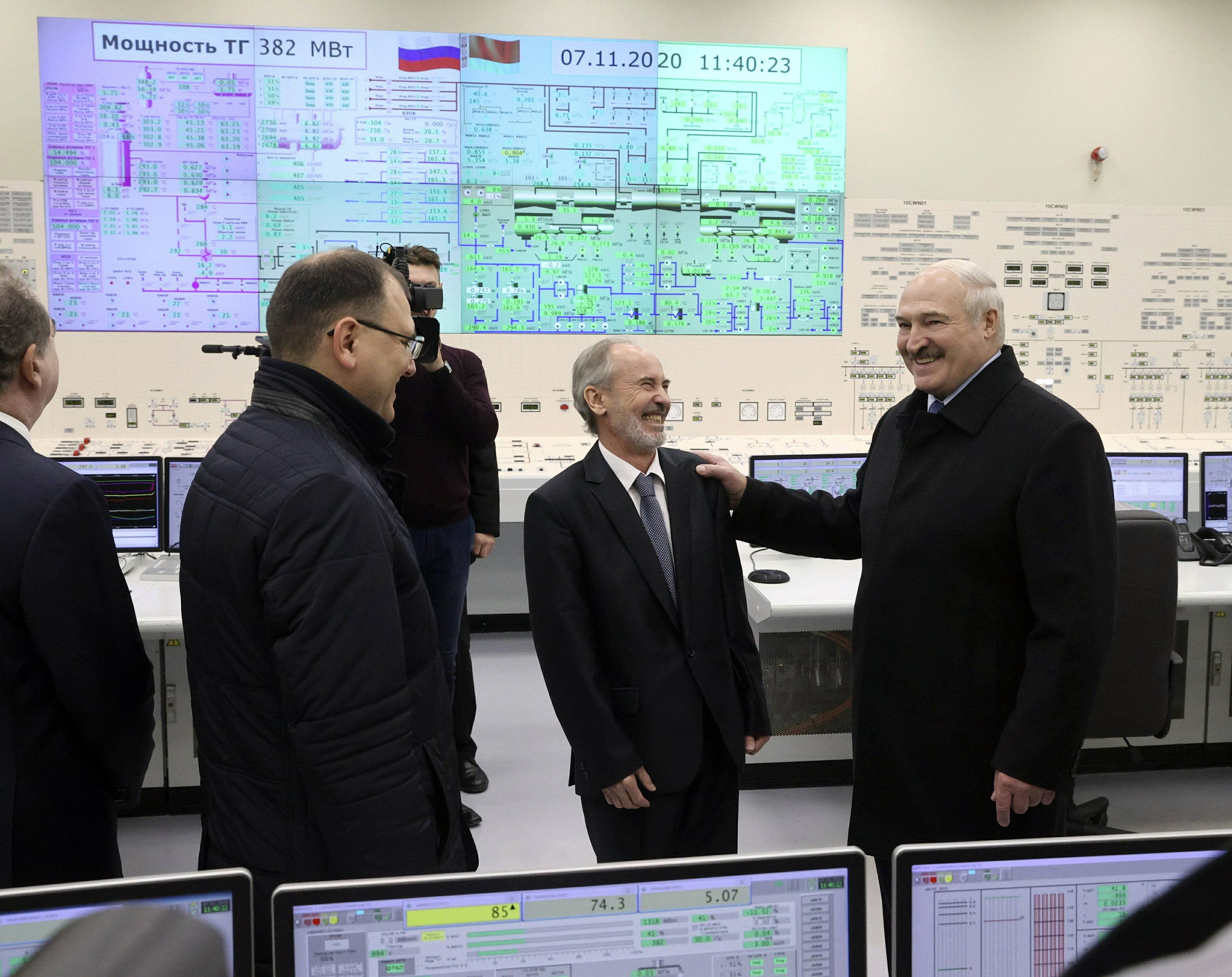 Belarus opens nuclear plant opposed by neighboring Lithuania