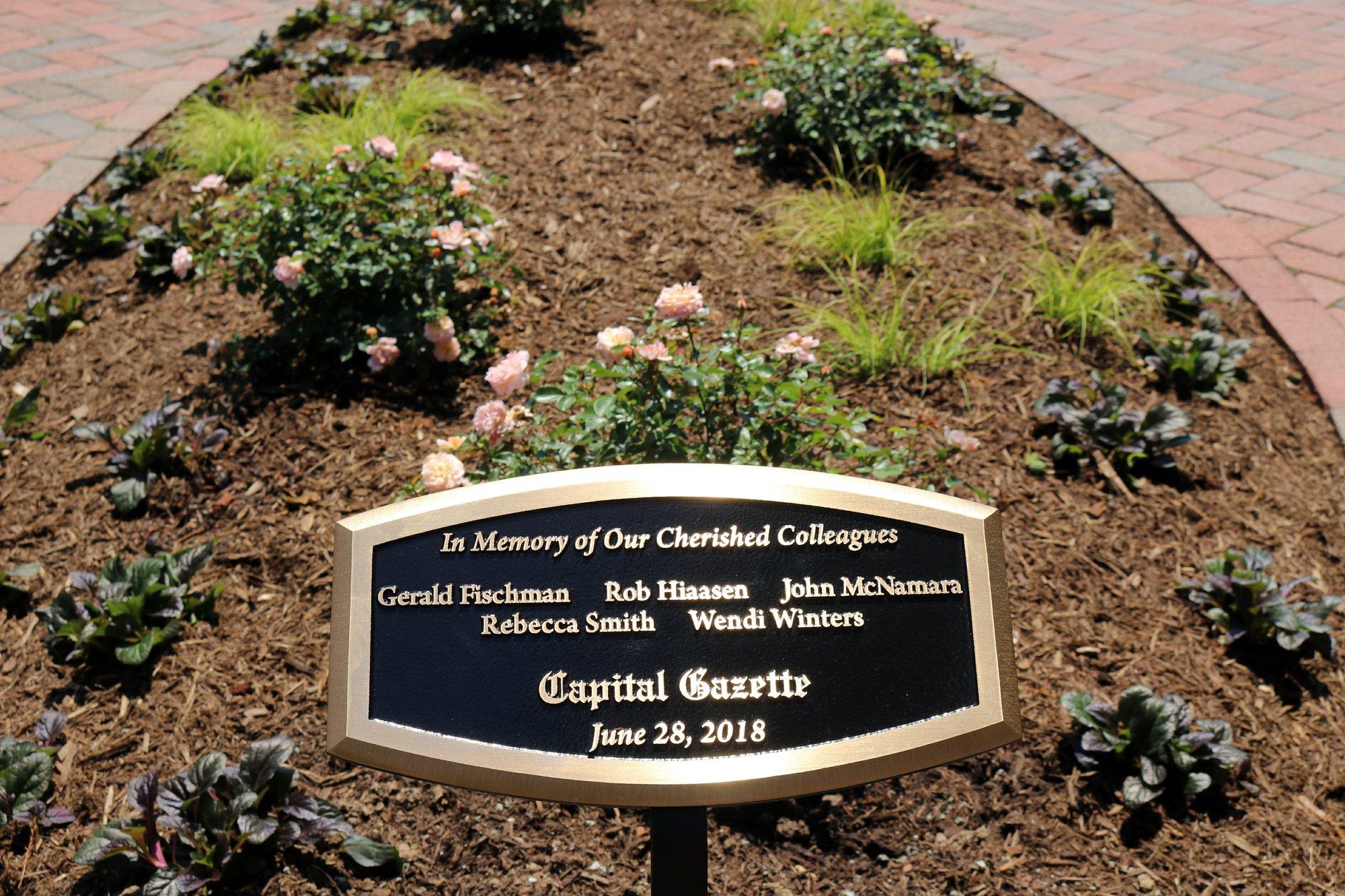 Memorial held for 5 slain Capital Gazette employees