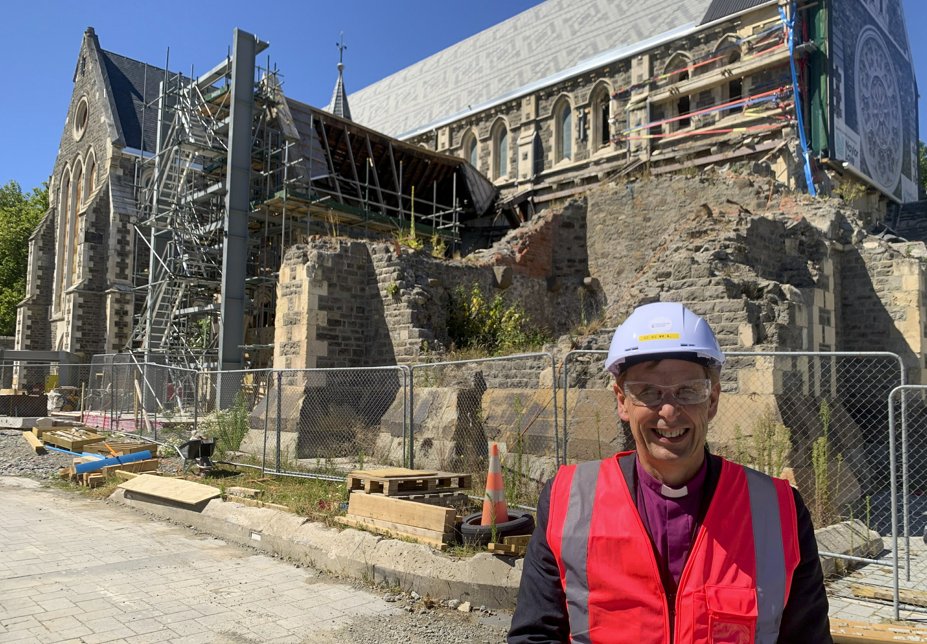 10 years after quake, Christ Church Cathedral finally rising