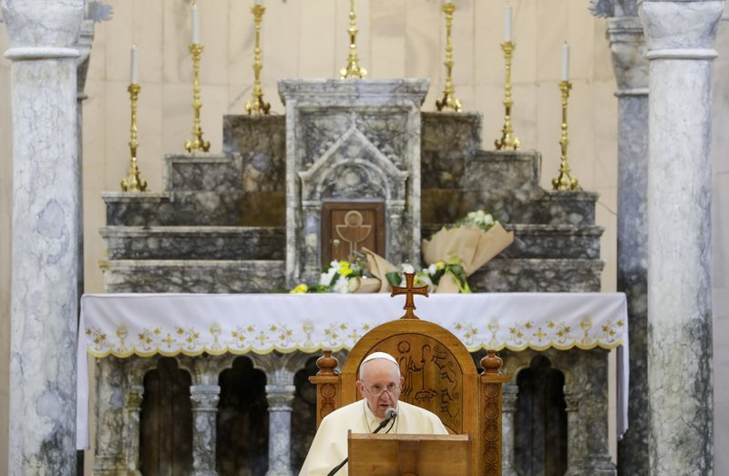 Iraqi woman who met the Pope Francis doubts the realities of life in Iraq will change