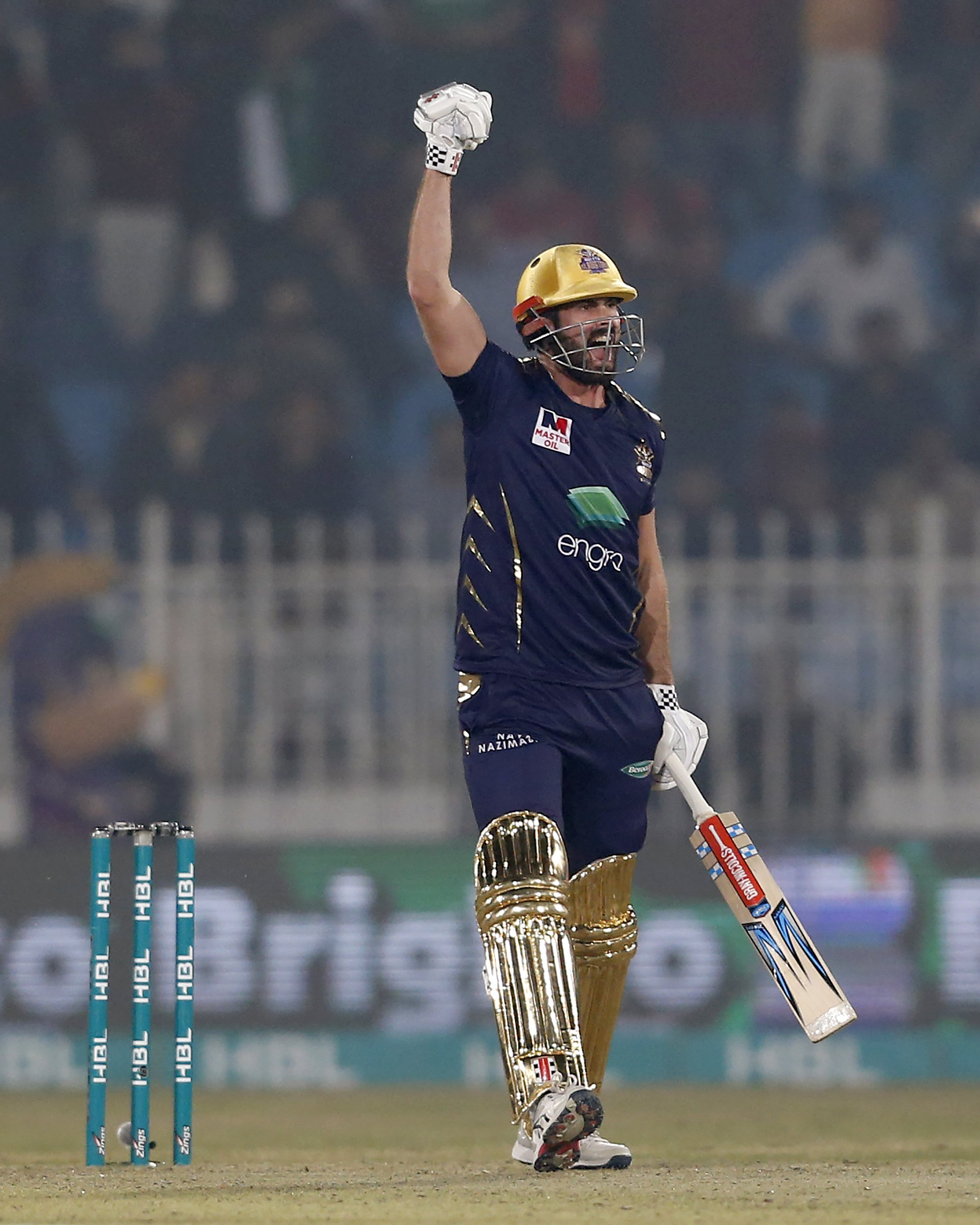 Cutting carries Quetta to win against Islamabad in PSL