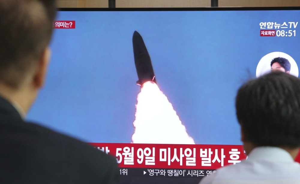 South Korean military: North Korea fired 2 missiles into sea