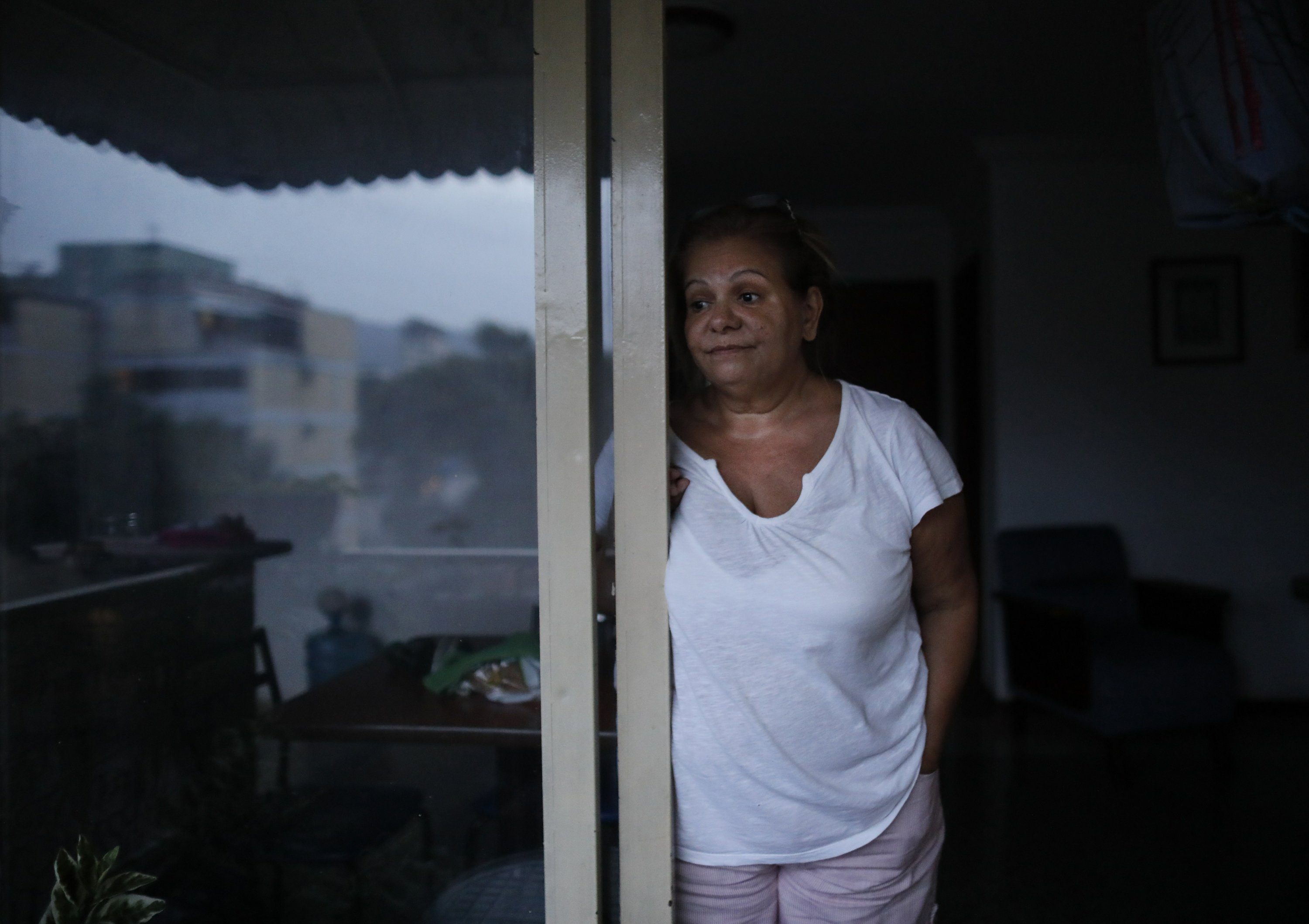 In prized Venezuelan building, a long wait for light
