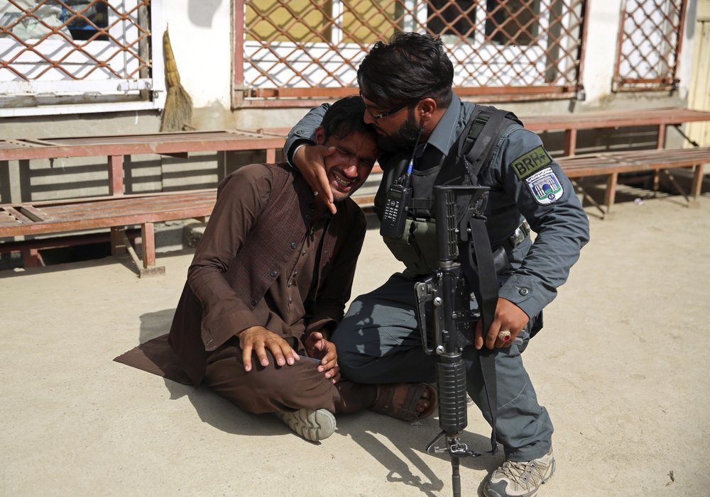 Hopes of moving toward peace after decades of war has been crushed by crime, conflict, chaos in Afghan