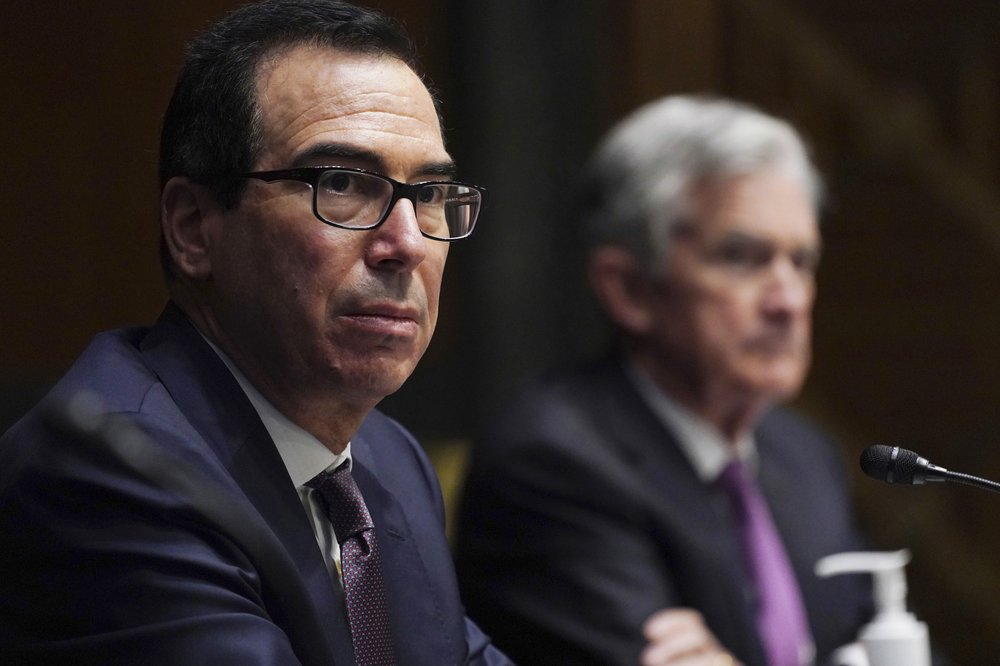 Steven Mnuchin denies attempting to limit President-elect Joe Biden's options for reviving the pandemic-damaged economy
