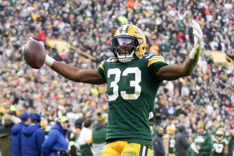 Aaron Jones Leads Packers Past Washington 20 15