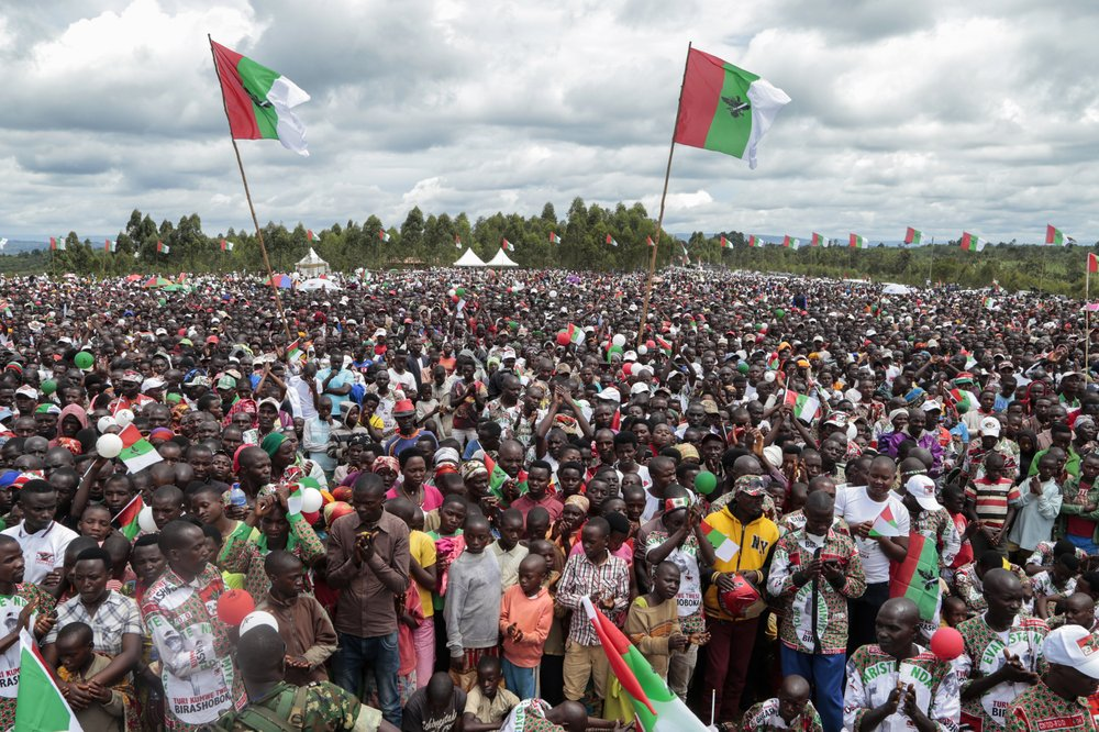 When President Pierre Nkurunziza hands over power, it could be the first truly peaceful transfer of authority in the East African nation since independence in 1962