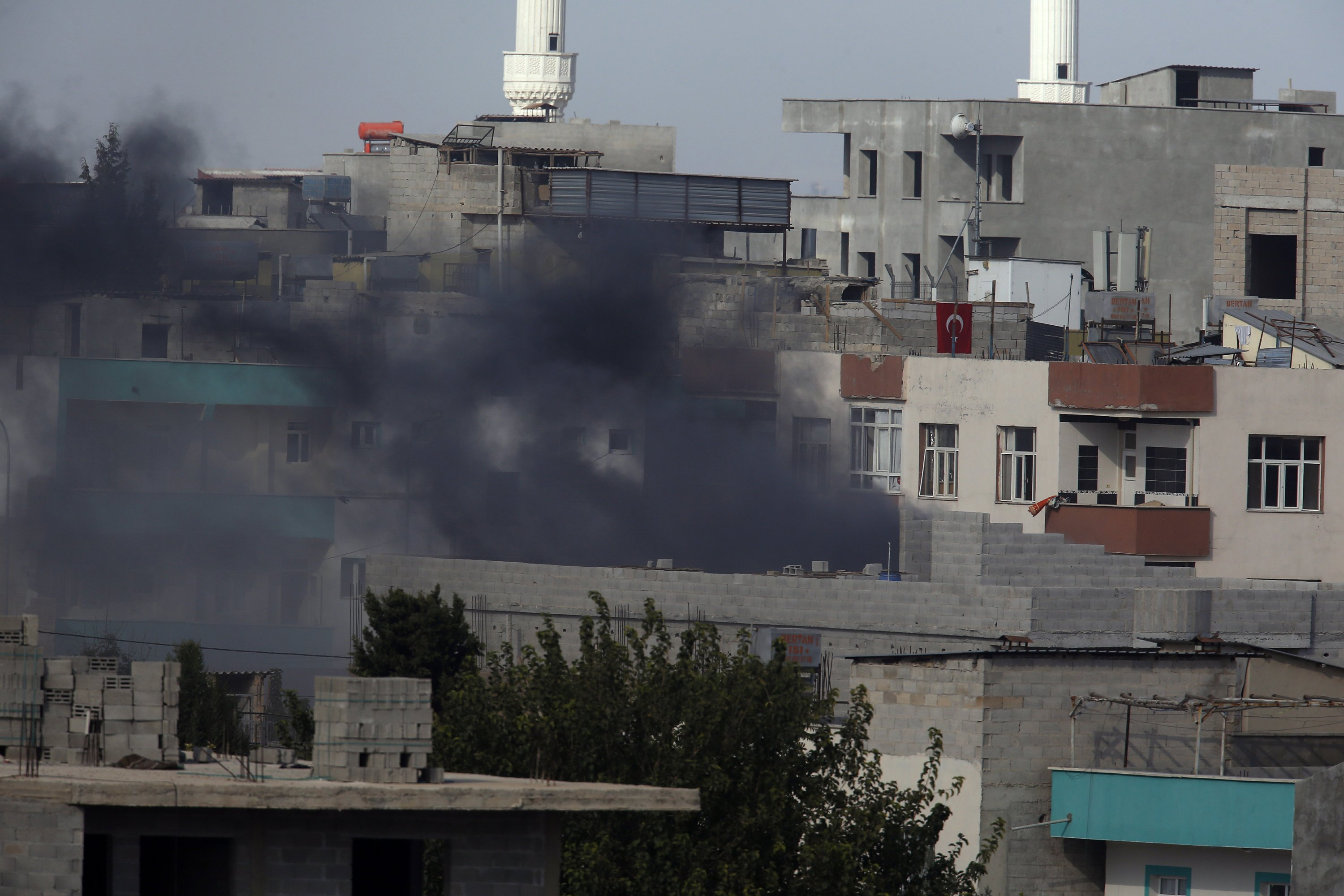 Turkey reports first military fatality in Syria incursion