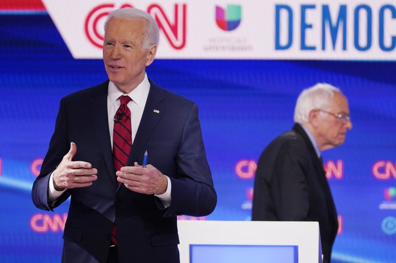 DEBATE TAKEAWAYS: Biden tries to draw in Sanders supporters