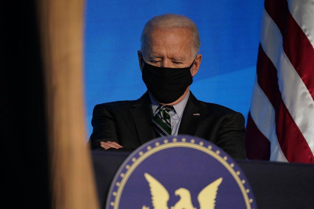Joe Biden will appeal to national unity when sworn in on Wednesday