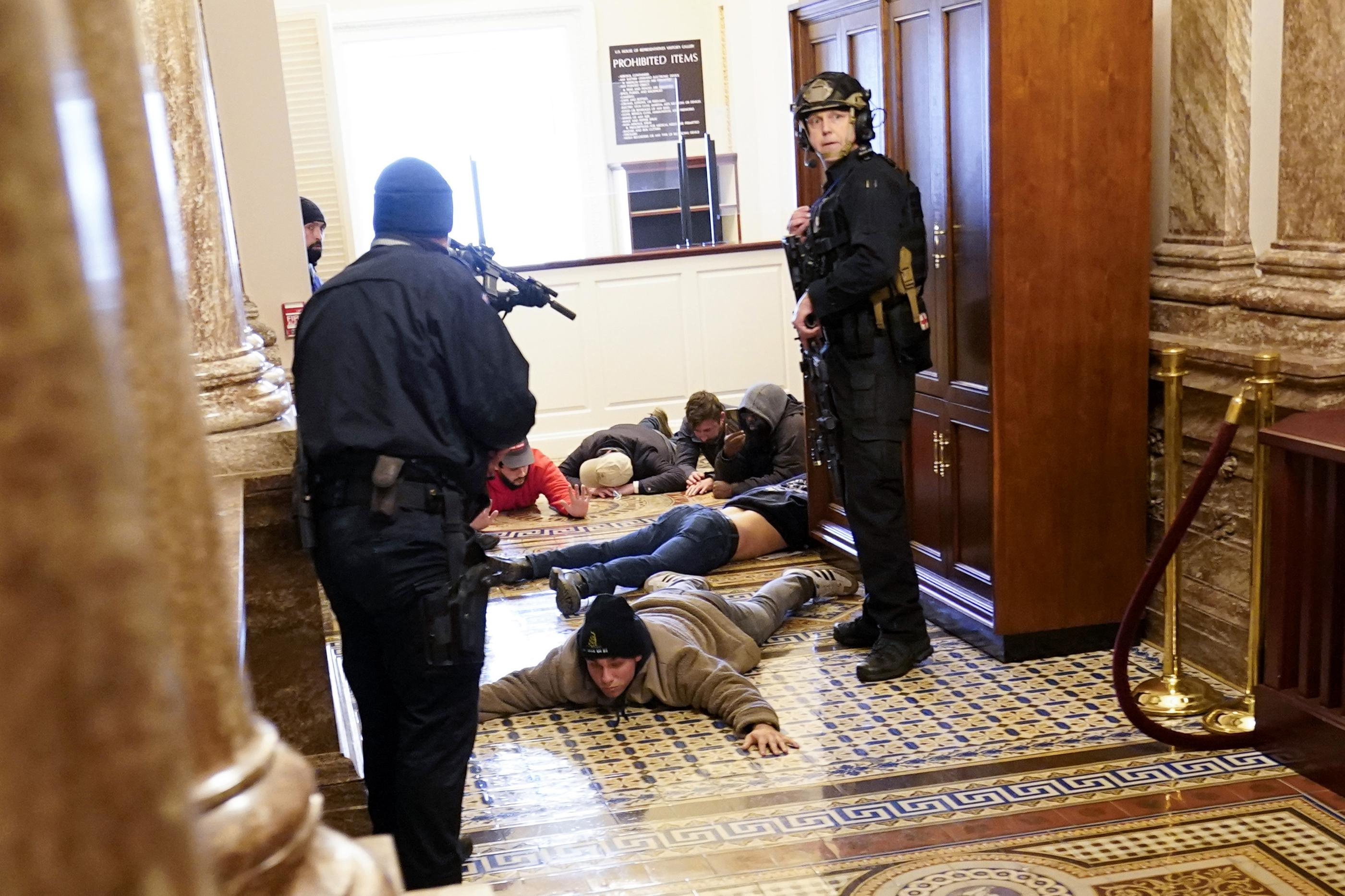 EXPLAINER: Who has been charged in the deadly Capitol riot?