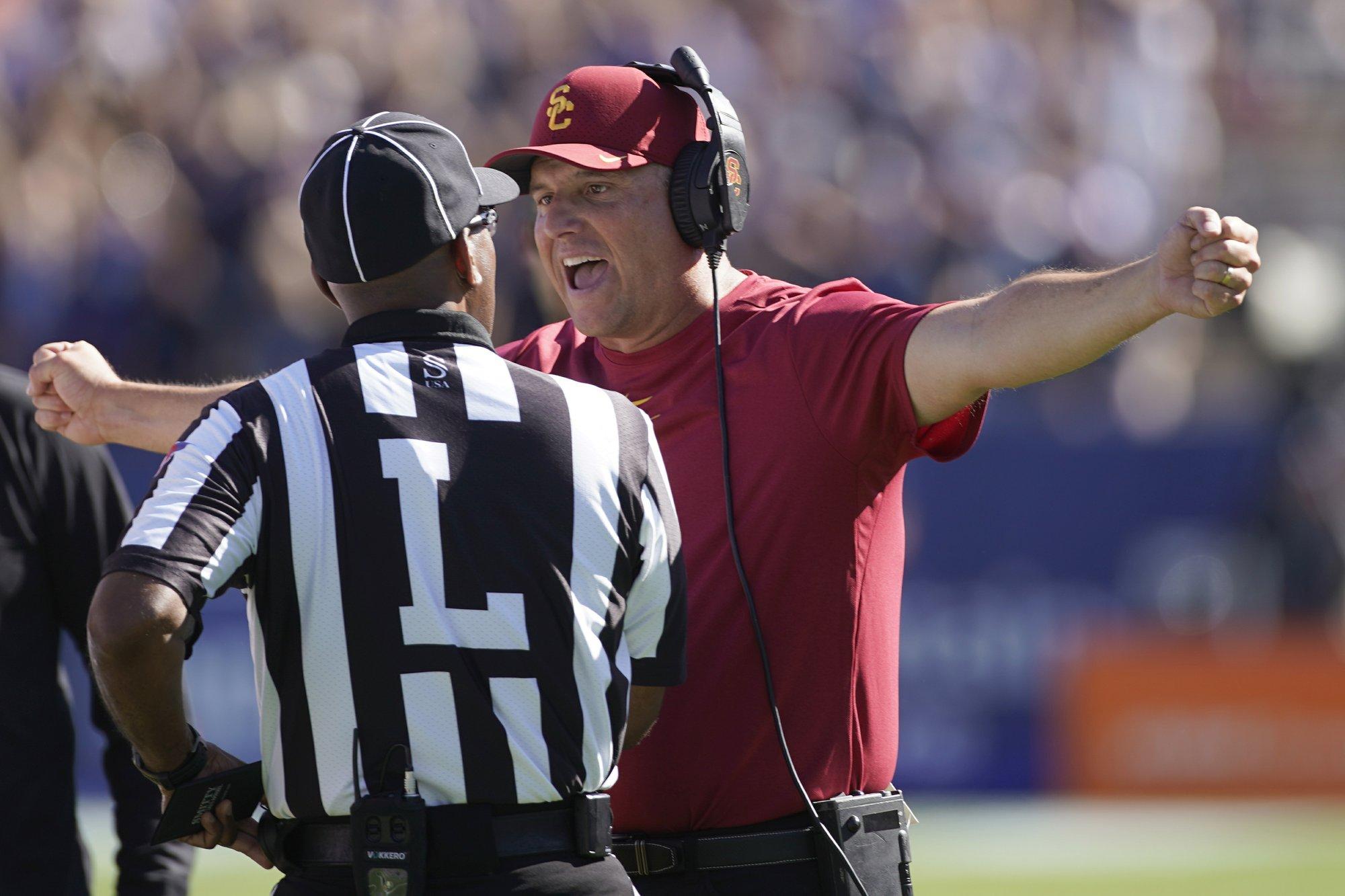 Big man's game: USC needs more from O-line vs. No. 10 Utah