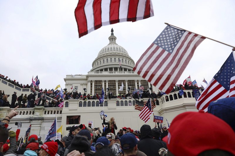 How Police Failures Let a Violent Insurrection Get Inside the Capitol