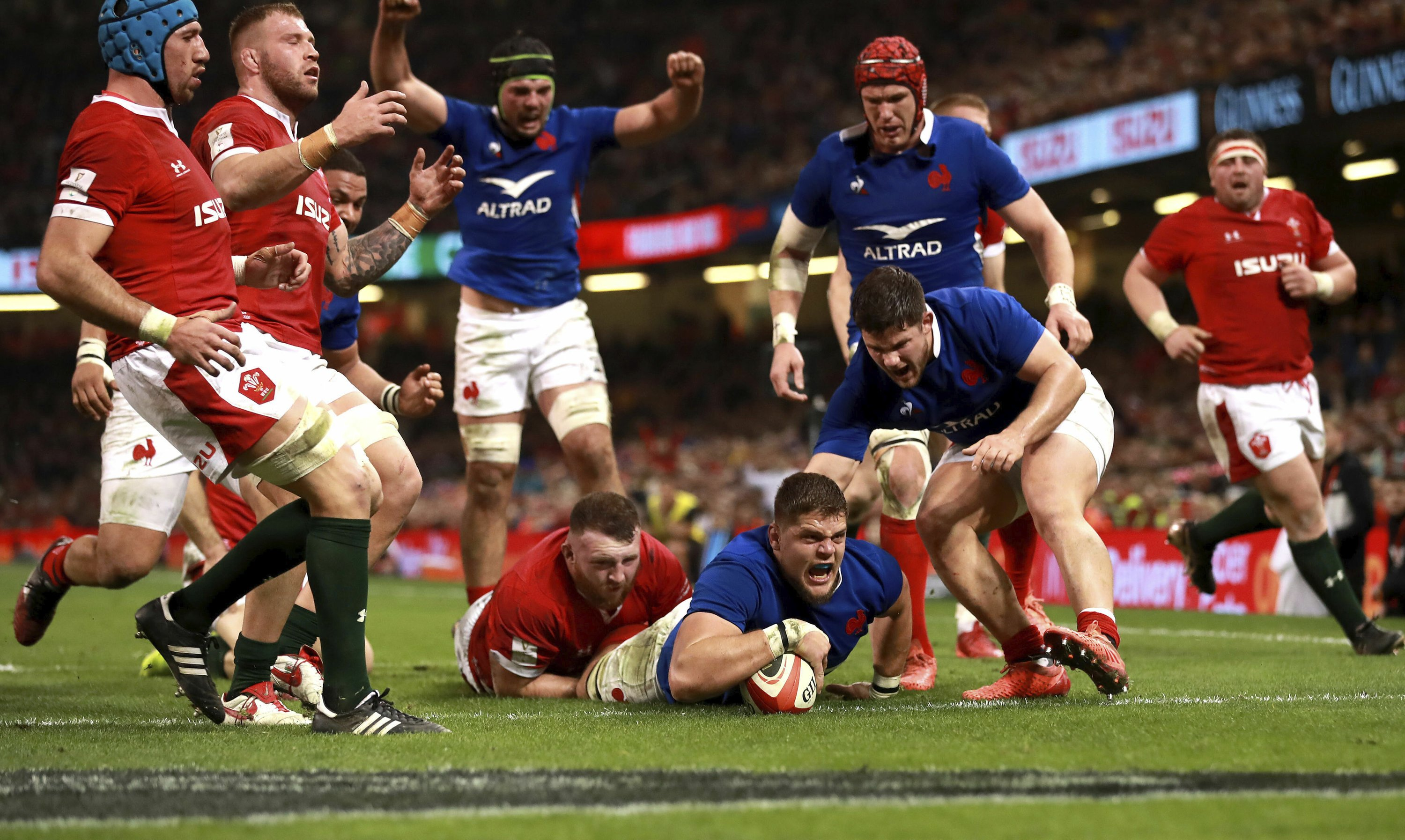 6N: Unbeaten France ends Wales title defense in thriller
