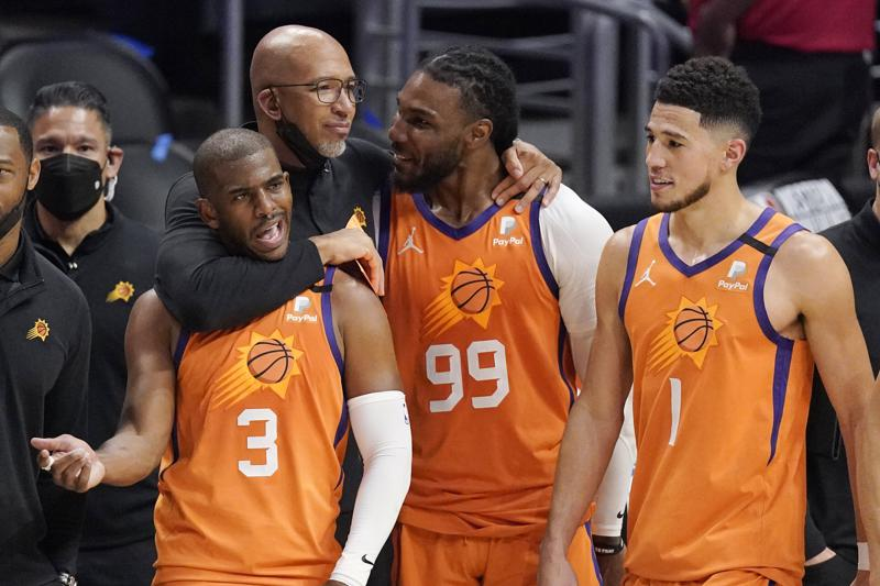 Chris Paul leads Suns past Clippers 130-103, into NBA Finals
