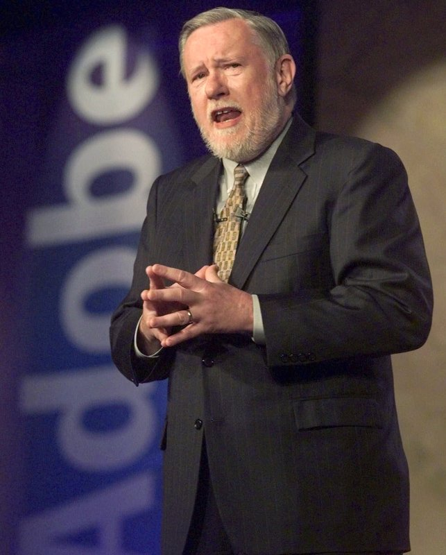 "Charles ""Chuck"" Geschke, co-founder of Adobe and developer of PDFs dies at age 81"