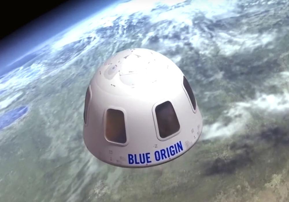 Seat on Jeff Bezos' Blue Origin Flight to Space Sells for  Million