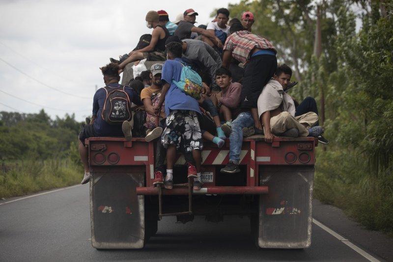 Marchas de migrantes  hacia  EEUU - Página 2 800