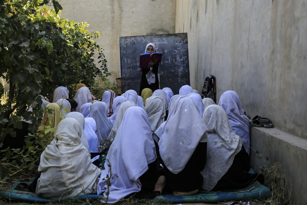 Memo banning Afghan girls singing a cover as women's rights activists, civil society groups fight to ensure human rights gains made over the last 20 years in Afghanistan take center stage in peace talks