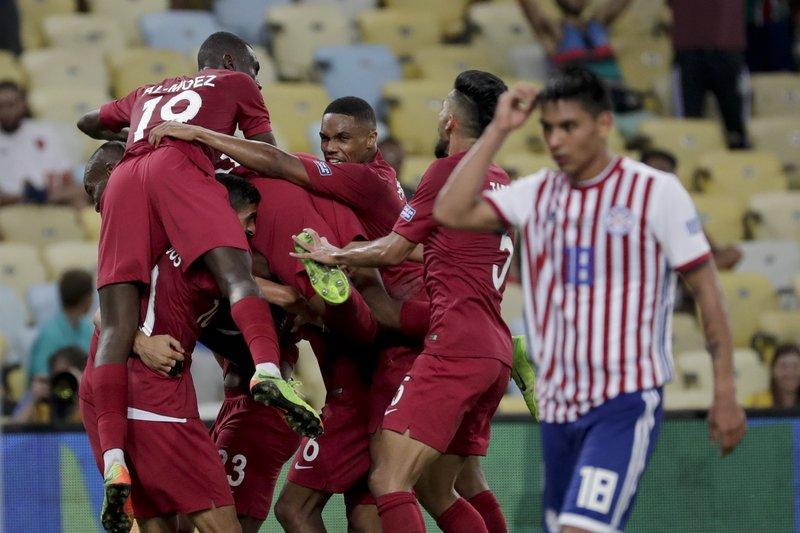 """Résultat de recherche d'images pour """"Paraguay 2:2  Qatar"""""""
