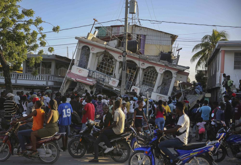 Death Toll from Haiti Earthquake Rises to More Than 700