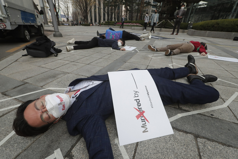 Myanmar protest deaths reach 320 as US, UK, impose sanctions