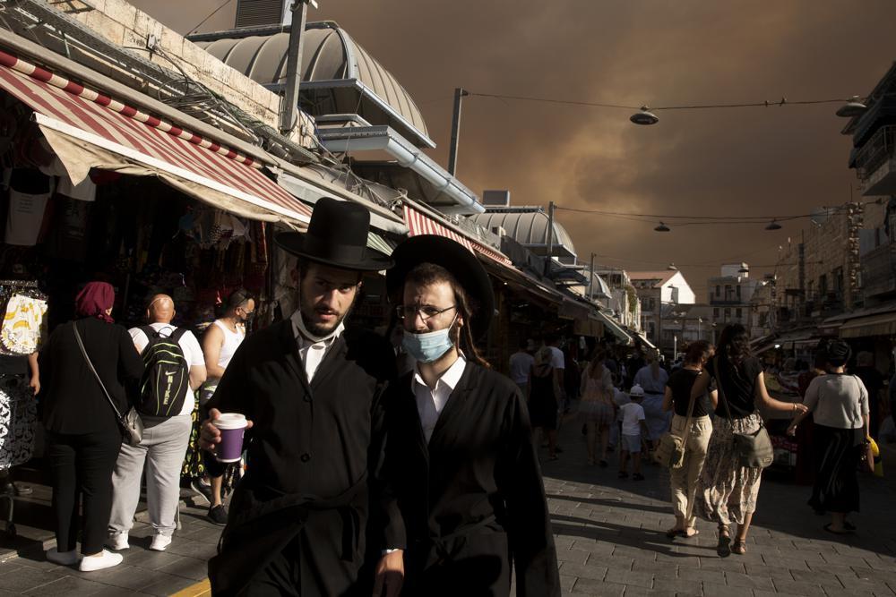 Massive Wildfire Rages Outside City of Jerusalem