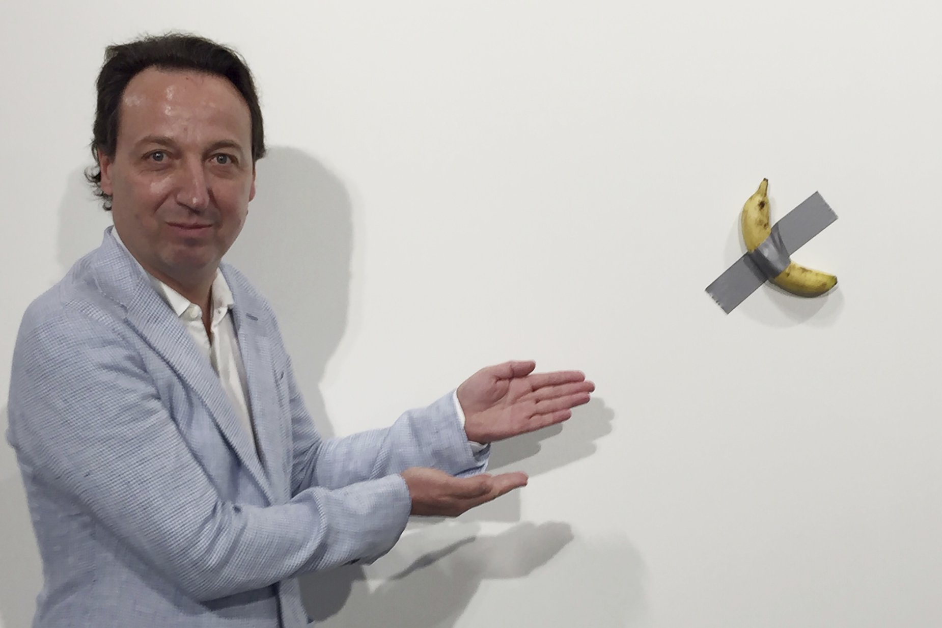 Banana Duct Tape Add Up To 150 000 At Art Basel Miami