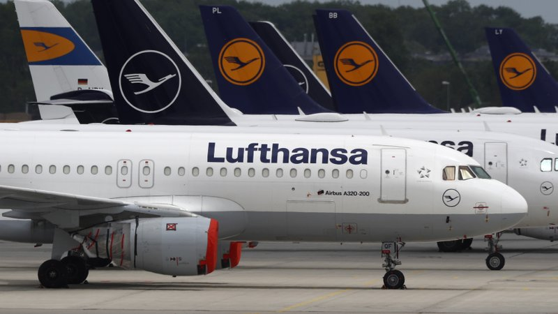 German government to give aid package to help Lufthansa, which, like most airlines, has been struggling during the coronavirus pandemic