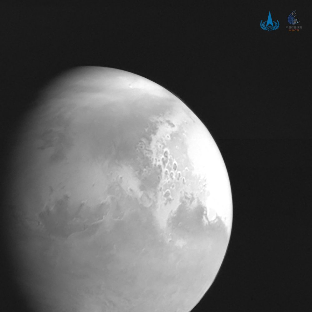 Chinese spacecraft poised to enter orbit around Mars, world's 2nd in 2 days