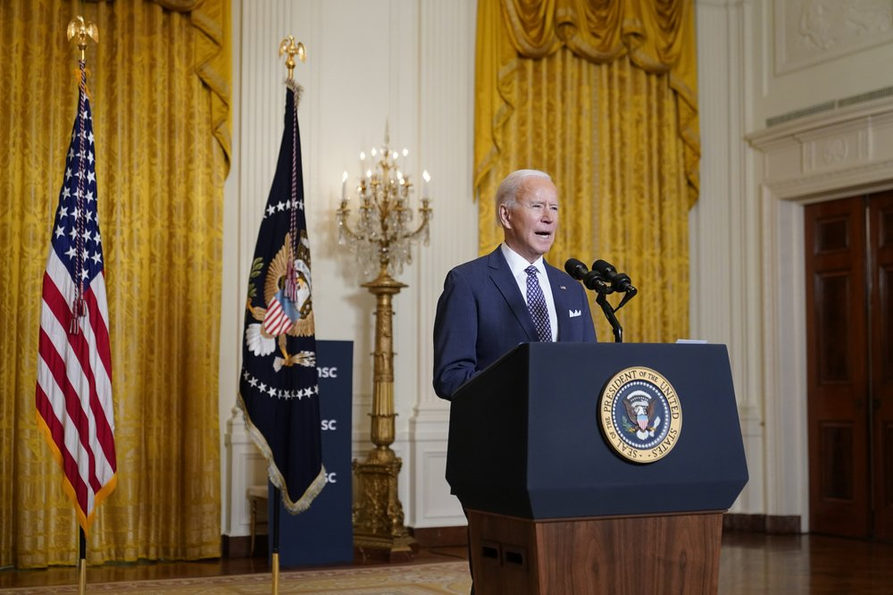 """U.S. back in Paris pact; Biden addresses climate change as """"global existential crisis"""""""