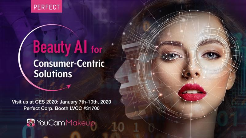 Perfect Corp. to Showcase 'Beauty AI' Personalized Solutions at CES 2020