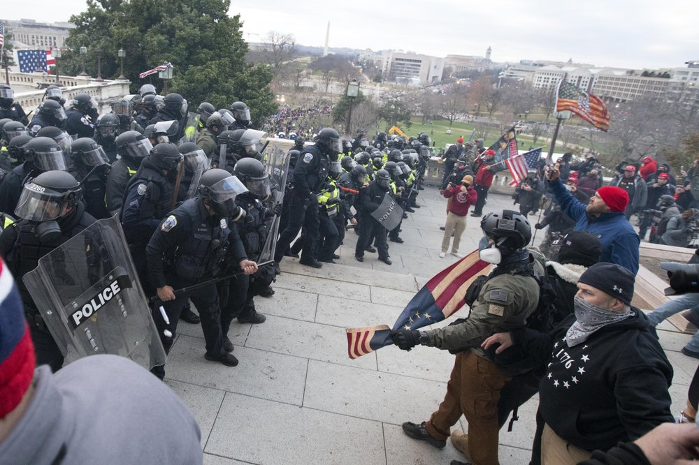 Capitol police were not adequately prepared, 'left naked' against rioters