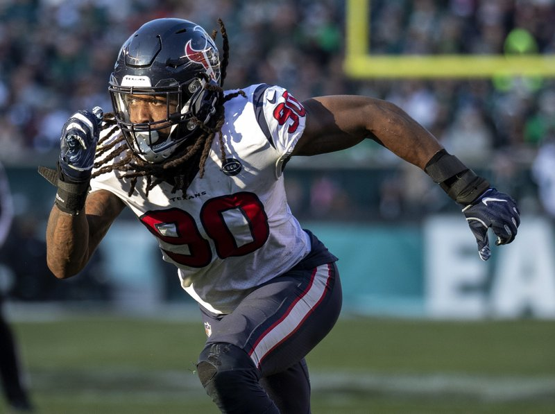 Seahawks finalize deal to acquire Clowney from Texans
